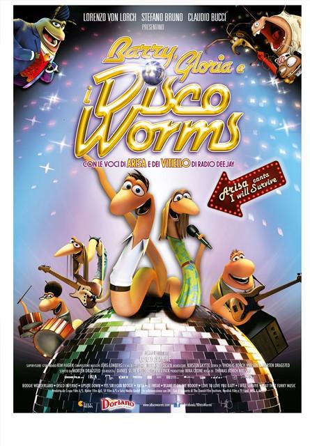 Barry, Gloria e i Disco Worms_locandina_media