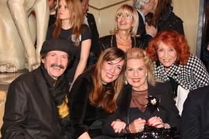 3.Angelo Ciccio Nizzo con le 3 Principesse Capece Minutolo( da dx. Maria Rosaria, Irma in Farouk e Irma