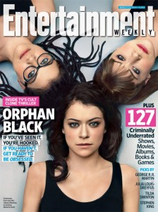 Cover Entertainment Weekly ORPHAN BLACK (PREMIUM ACTION)