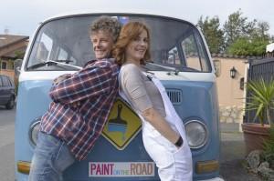 Posati Paint on the road