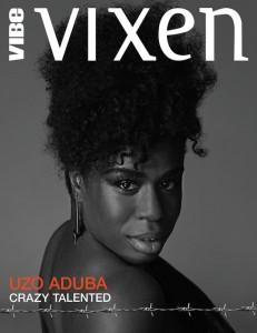 Uzo Aduba (OITNB - Mya da settembre - cover Vibe Vixen