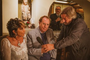 Maria Pia Montanari e Michele Mirabella intervistati da Antonio Bartolomucci di Mediaset
