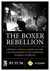 THE BOXER REBELLION TOUR