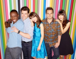 New Girl S3 group
