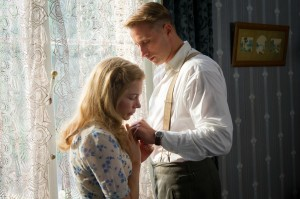 "dal film di Saul Dibb ""Suite francese"" con Michelle Williams, Matthias Schoenaerts, Kristin Scott-Thomas"