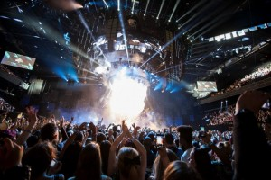 Foto palco MTV EMA