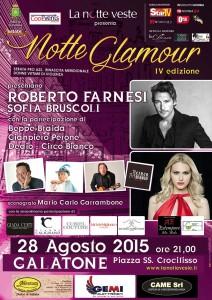 Locandina  Notte Glamour Galatone