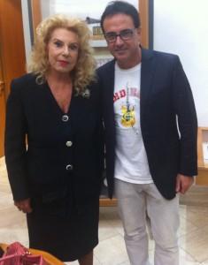 IRMA CAPECE MINUTOLO E ANGELO MARTINI