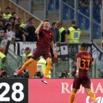 La Roma batte la Juve e ritrova il secondo posto.