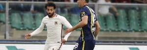 "Mohamed ""Momo"" Salah durante l'azione del 2-2."