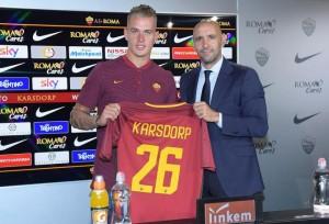 Il nuovo Difensore della Roma, Rick Karsdorp.