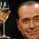 Arcore in festa per gli ottantuno anni del presidente Silvio Berlusconi