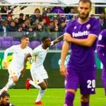 Fiorentina battuta. Roma da record.