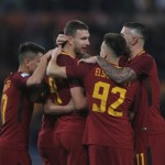 La Roma vince in scioltezza: 3-1 alla S. P. A. L.