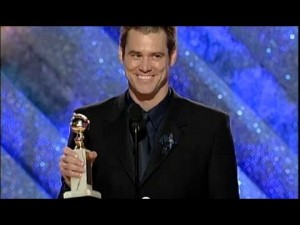 Jim Carrey vincitore del Golden Globe