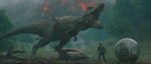 Jurassic World: Il regno distrutto Una scena del film