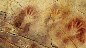 Una delle tante pitture rupestri nelle grotte di Puente Viesgo (João Zilhão tramite AP)
