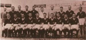 La rosa giallorossa nella stagione 1941/1942