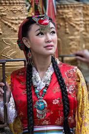 Abito da sposa tibetano