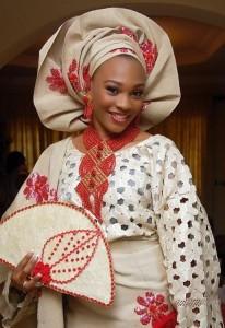 Abito nuziale nigeriano