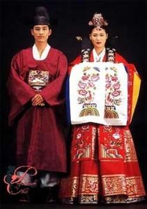 Abito nuziale coreano