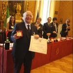 Giovanni Rana a Venezia per ritirare il Leone d'Oro alla Carriera