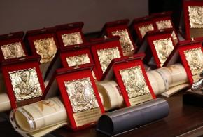 Gran Premio Internazionale di Venezia: Targa del Leone d'Oro alla dott.ssa Franca Matilde Martini