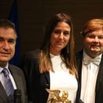 Leone d'Oro per meriti professionali a Venezia alla dott.ssa Paola Cranchi