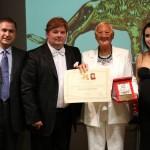 Targa del Leone d'Oro alla Carriera a Venezia per la Contessa Maria Rosaria Caracciolo di Torchiarolo