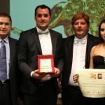 Al Gran Premio Internazionale di Venezia, conferita al dott. Umberto Sosio la Targa del Leone d'Oro per meriti professionali