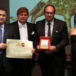Targa del Leone d'Oro a Venezia per Cantieri Venere come Miglior Azienda 2018
