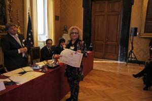 La nomination alla Camera dei Deputati prima del conferimento ufficiale a Venezia