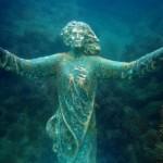Chieti: rubata la statua del Cristo degli abissi