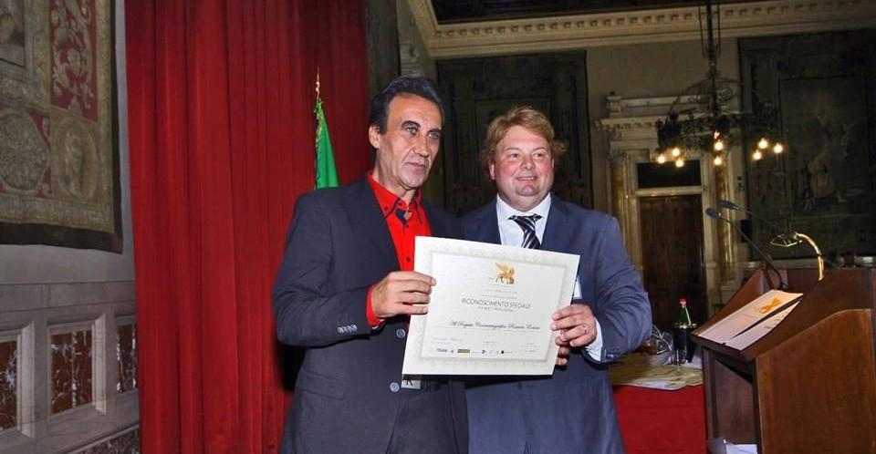 Al regista Rosario Errico il Riconoscimento Speciale per Meriti Professionali del Gran Premio Internazionale di Venezia