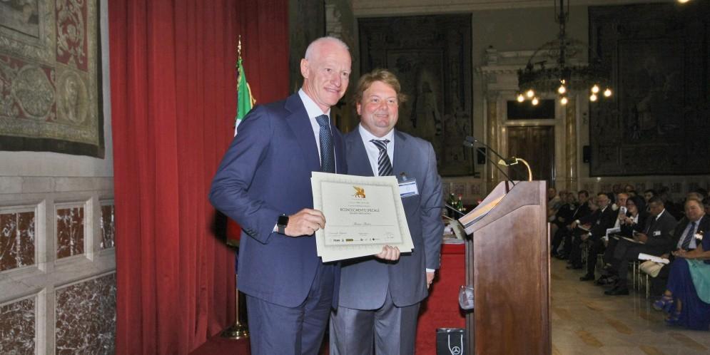 Gran Premio Internazionale di Venezia – A Montecitorio consegnato riconoscimento speciale per Meriti Professionali al produttore Massimo Martino