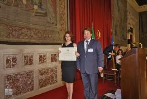 Gran Premio Internazionale di Venezia – A Simona Corigliano il Riconoscimento Speciale per Meriti Professionali