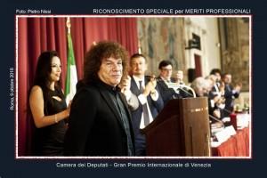 La consegna della nomination a Riccardo Cocciante a Montecitorio
