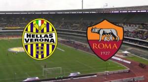 Logo Hellas Verona - Roma