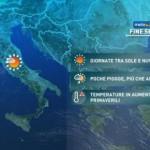 Da Venerdì maltempo sul versante adriatico, sulle isole e al Sud